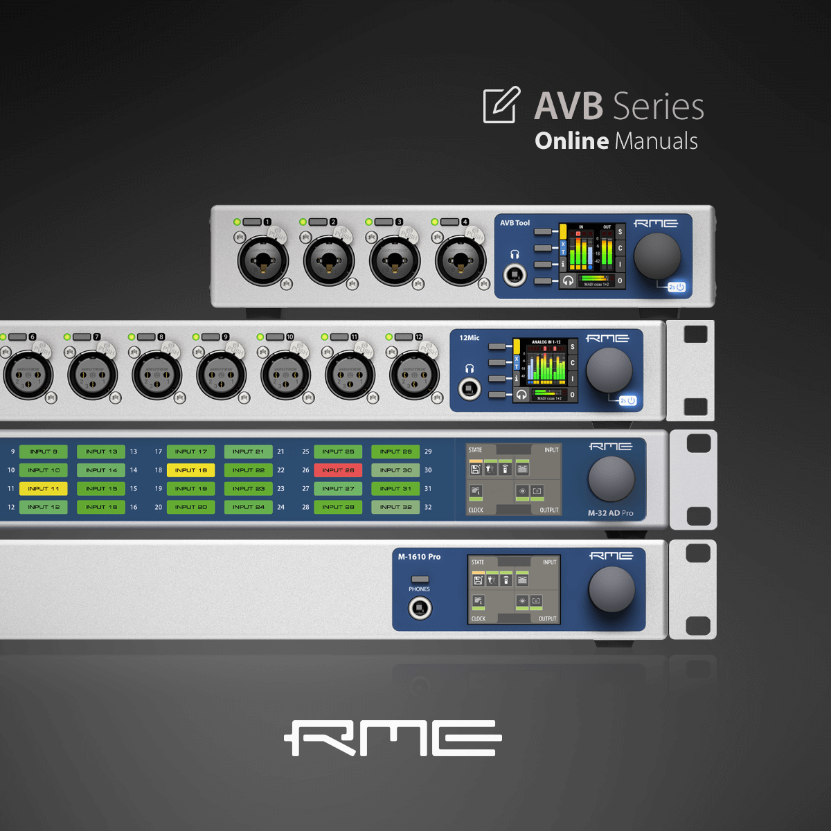 AVB Series online user guides