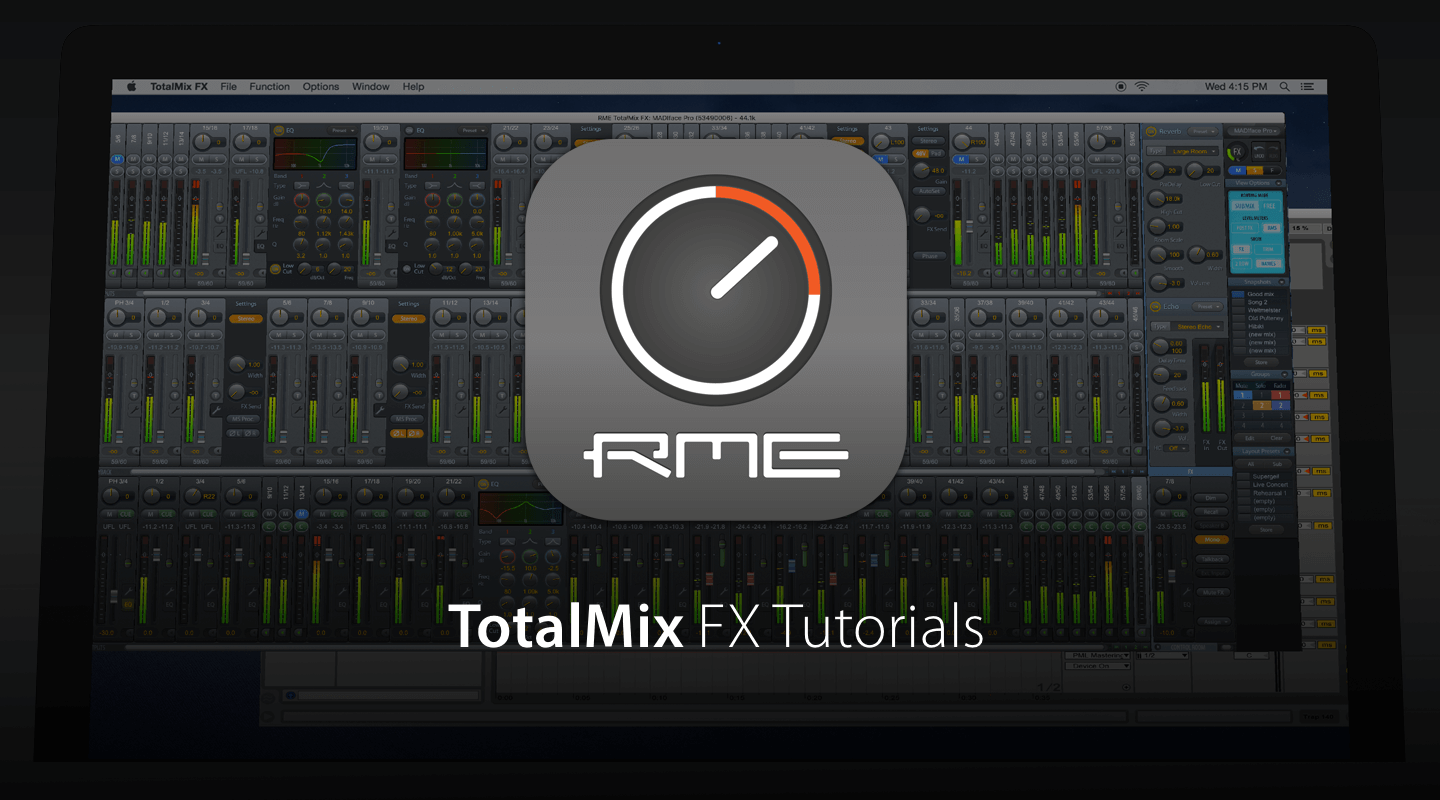 TotalMix FX Beginner's Guide Tutorial Series