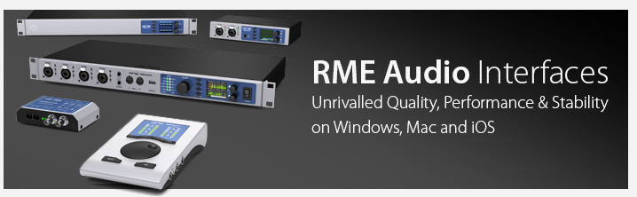 RME Audio Interfaces