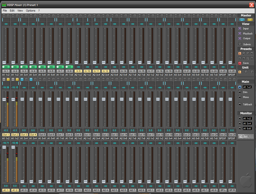 Rme Download Tools And Software 6 Input Mixer Logic