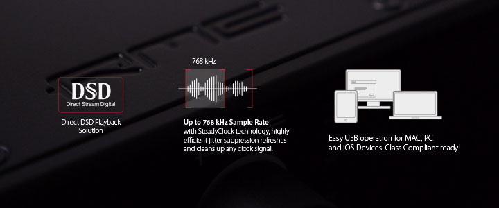 ADI-2 DAC - Features