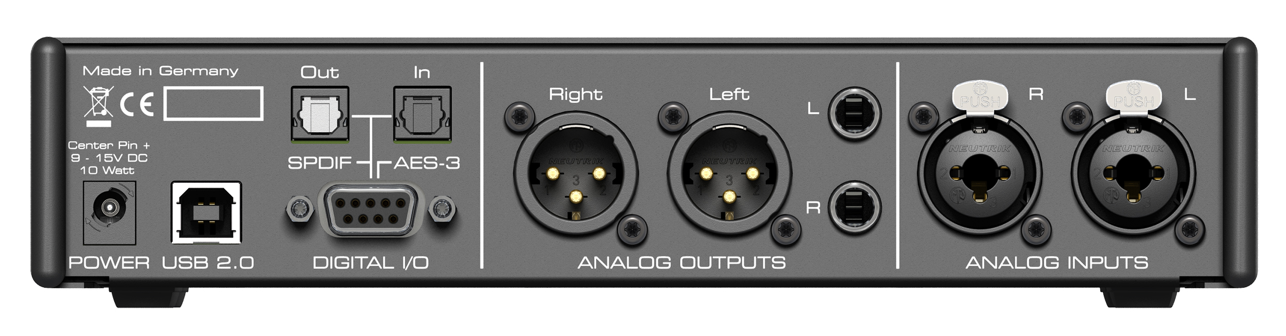 Rme Adi 2 Pro Series 2channel Line Output Converter With Remote Turnon Circuit 4