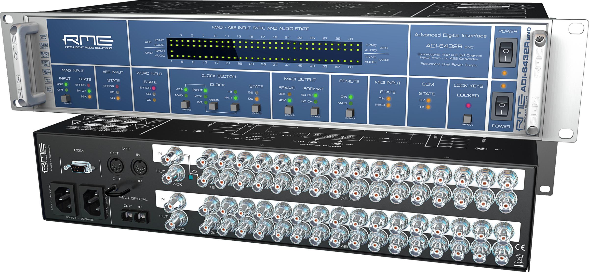 RME: ADI-6432R BNC