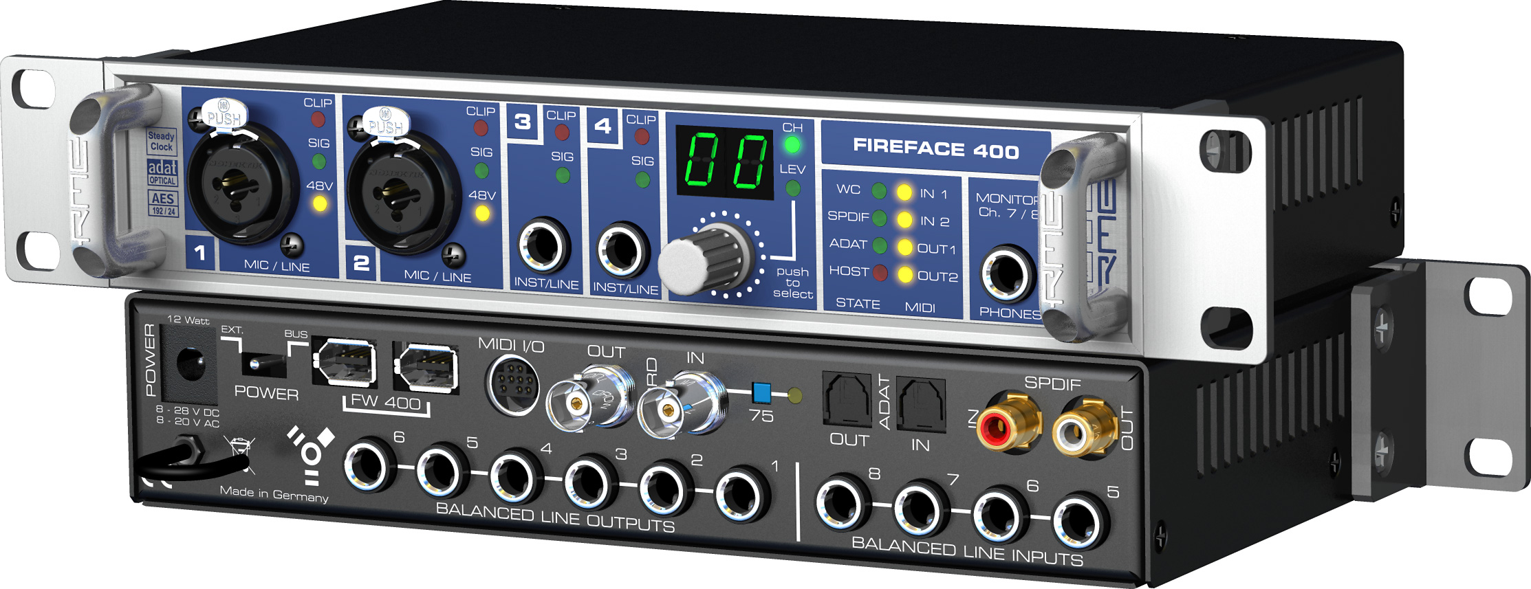 RME: Fireface 400
