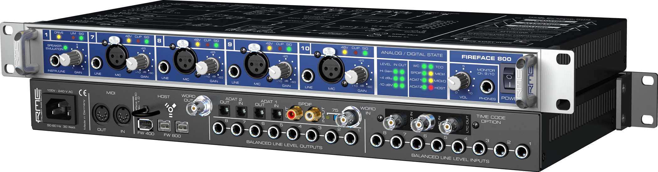 RME: Fireface 800