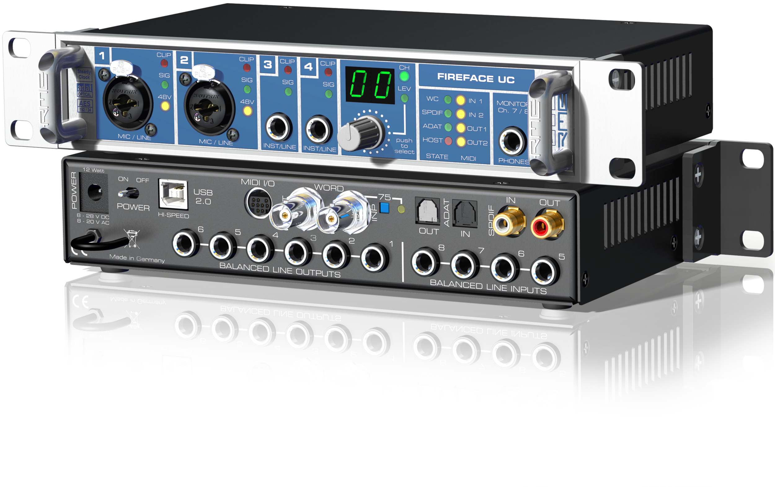 RME Fireface UC USB audio interfész