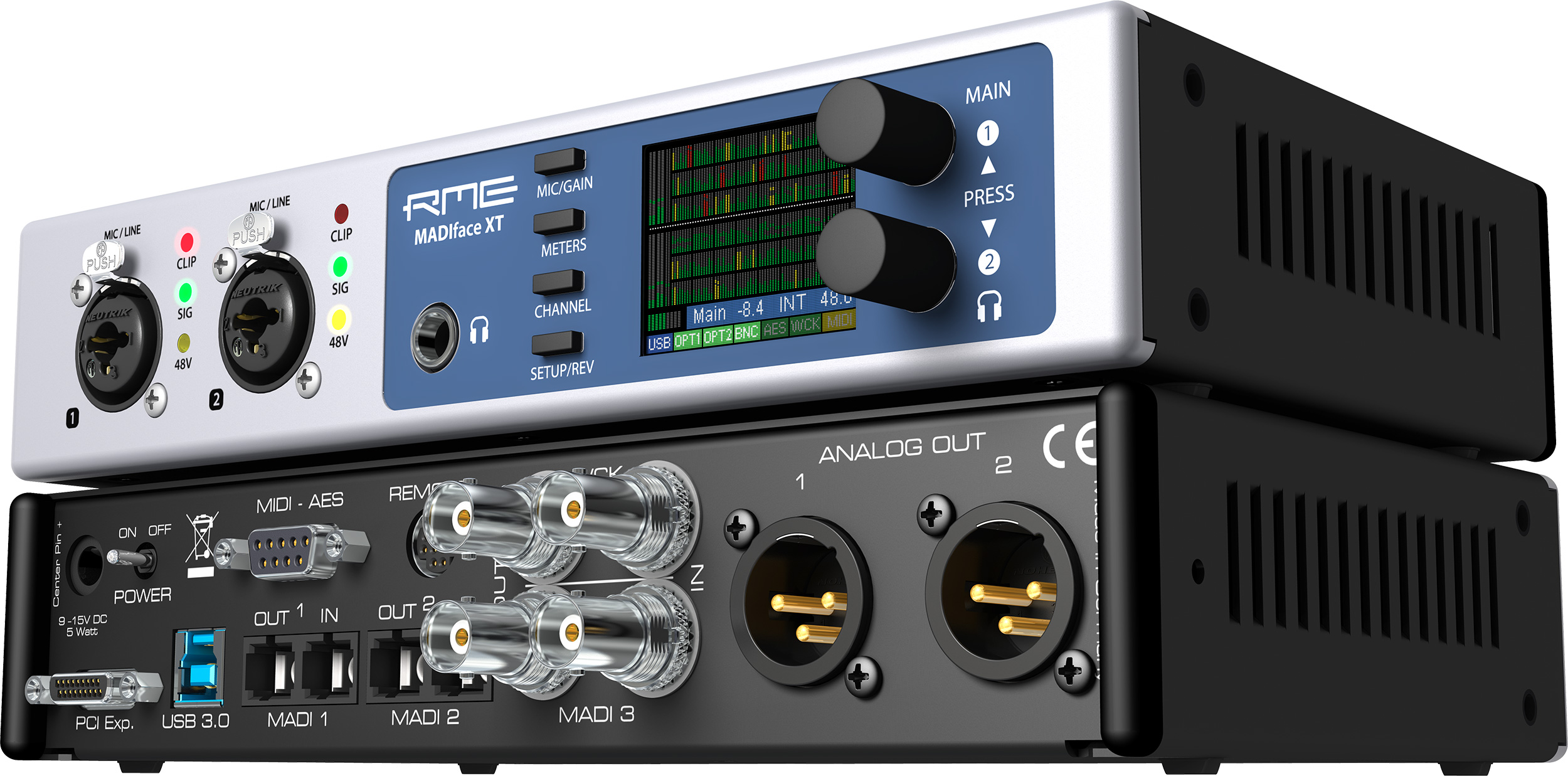 Rme Madiface Xt Pro Series 2channel Line Output Converter With Remote Turnon Circuit