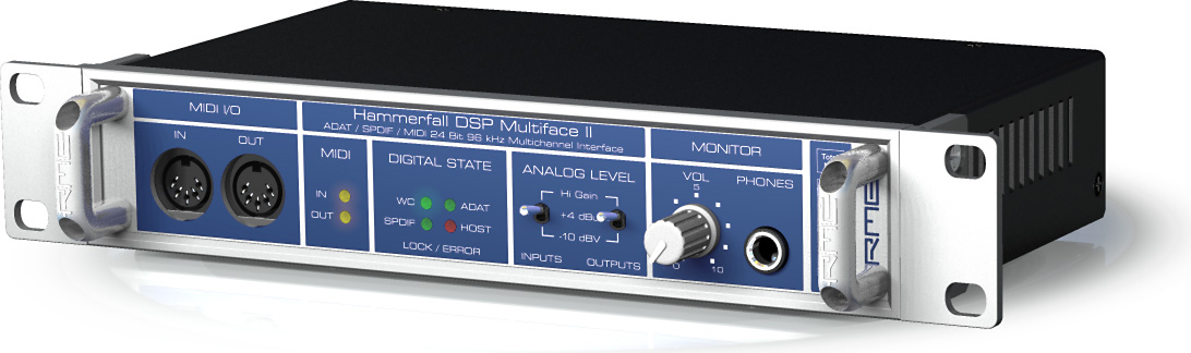 RME HAMMERFALL DSP MULTIFACE DRIVER (2019)