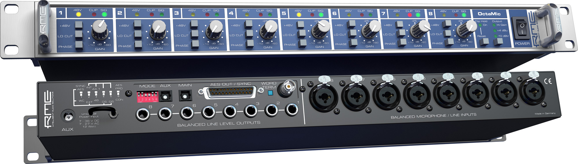 RME: OctaMic Preamp